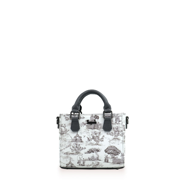 Swal Taw Silver Mini Shopper Bag