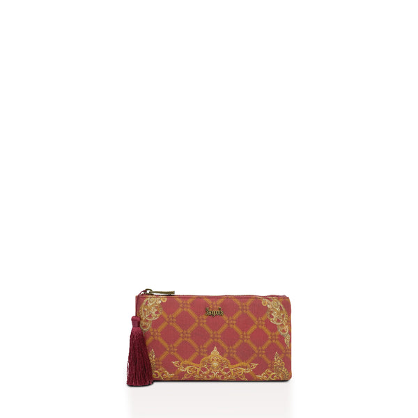 Regalia Burgundy Wallet Pouch