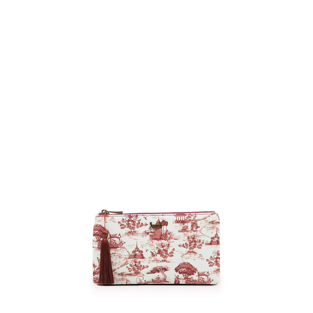 Swal Taw Crimson Wallet Pouch