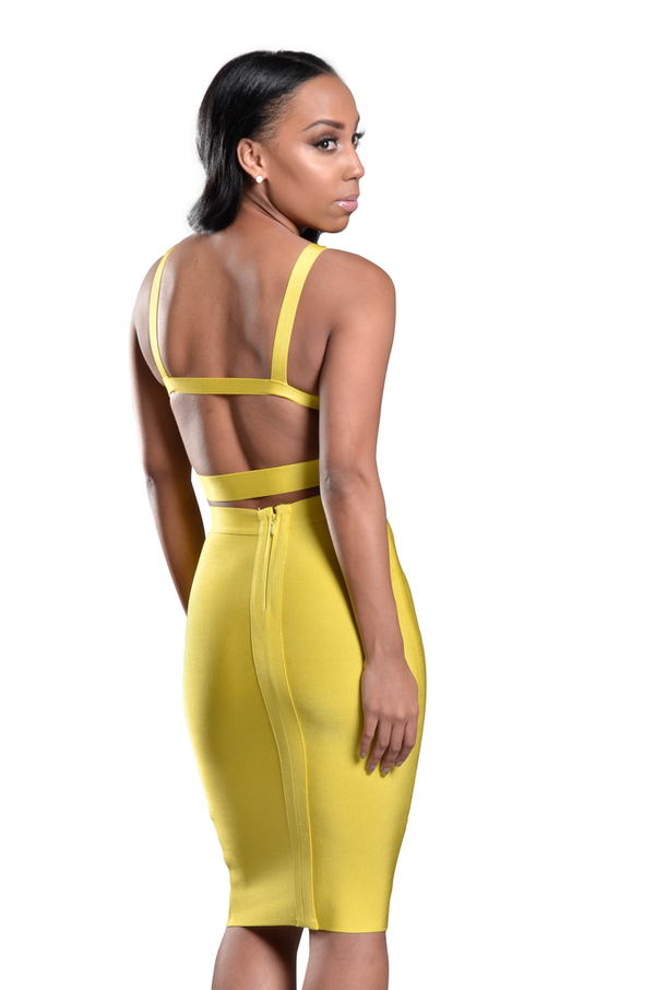 Bailey 2 Piece Bandage Dress Set