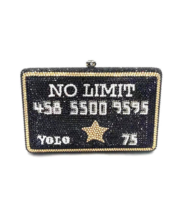 NO LIMIT BLING HANDBAG