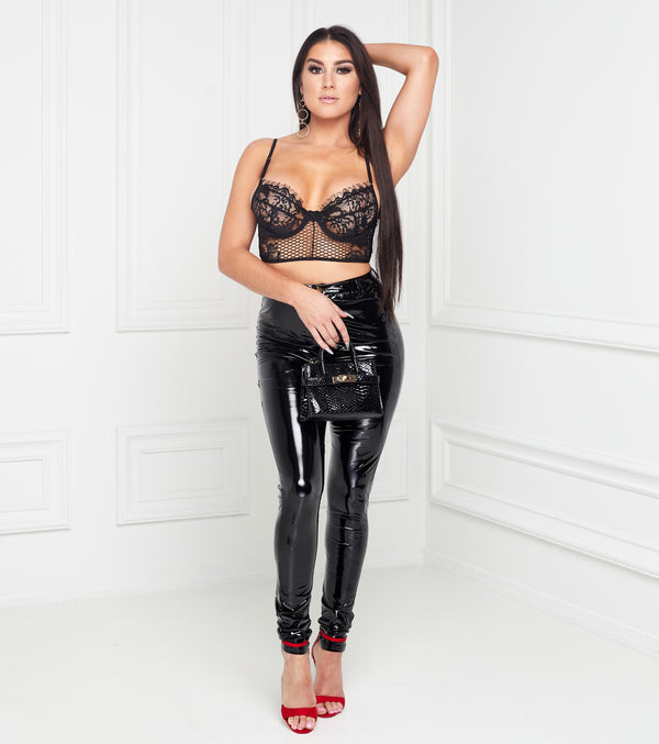 Charlotte Latex Pants
