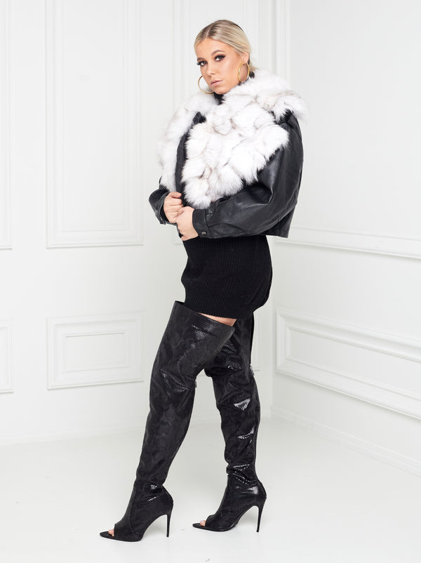 Alori Fox Fur Jacket
