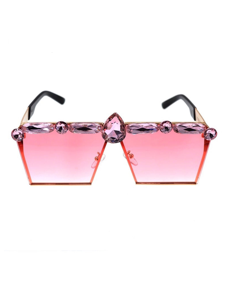 LORNA JEWELED SUNGLASSES