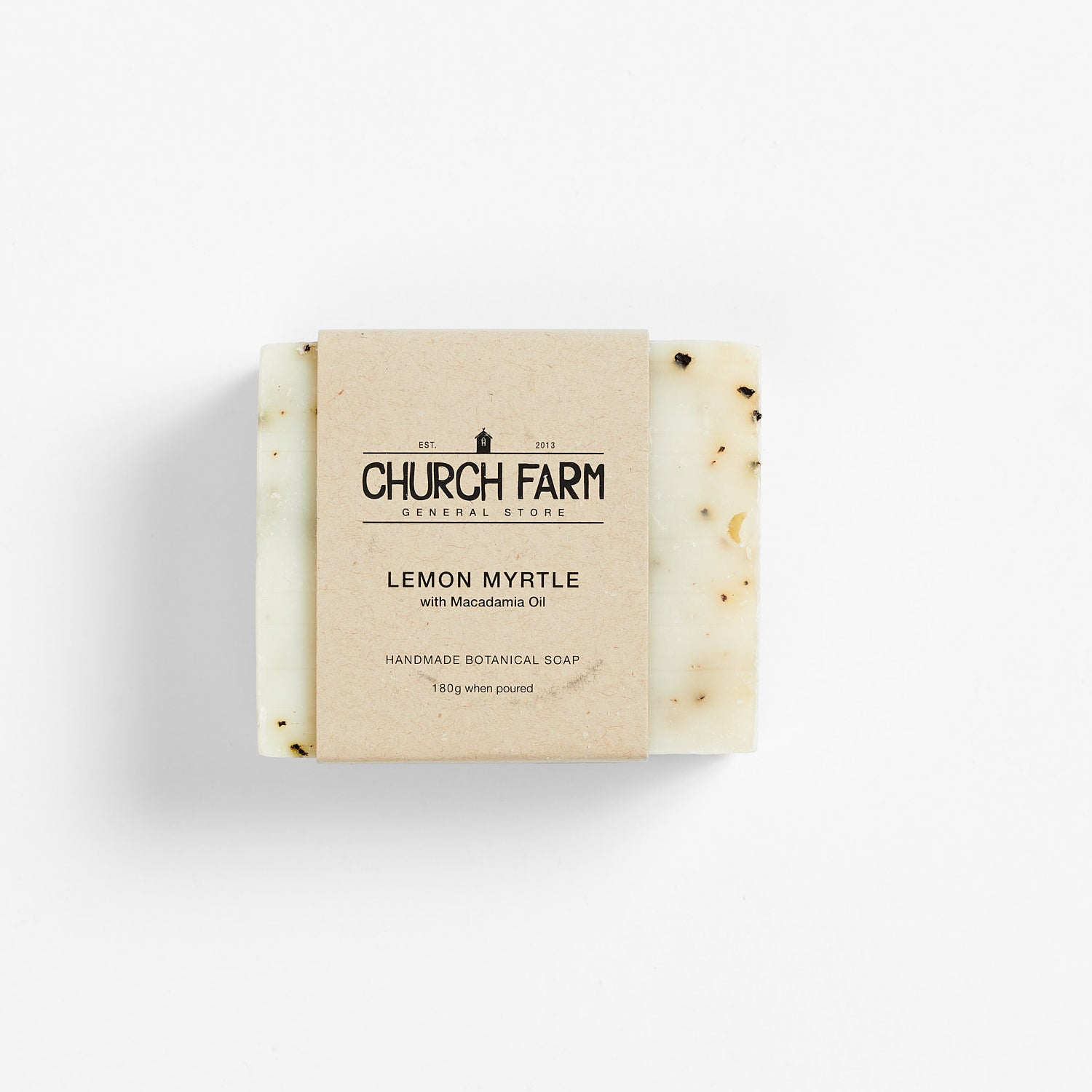 Church Farm Botanical Soap - Lemon Myrtle with Macadamia Oil