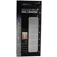 (Pack 2) Loreal Limited Edition Diamond Collection Nail Lingerie - 701 Bling ,,,