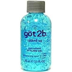 Got2B Spiked-Up Max-Control Styling Gel, 2.5 Ounce (Pack of 3)