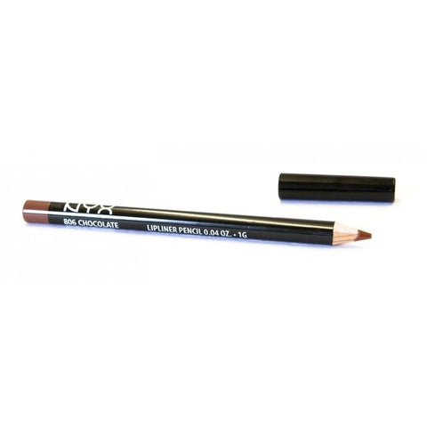 **2 Pack** NYX Lip Liner Pencil 806 Chocolate