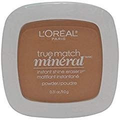 3 Pack- L'Oreal True Match Mineral Instant Shine Eraser Powder #W6-7/413 Sun Beige