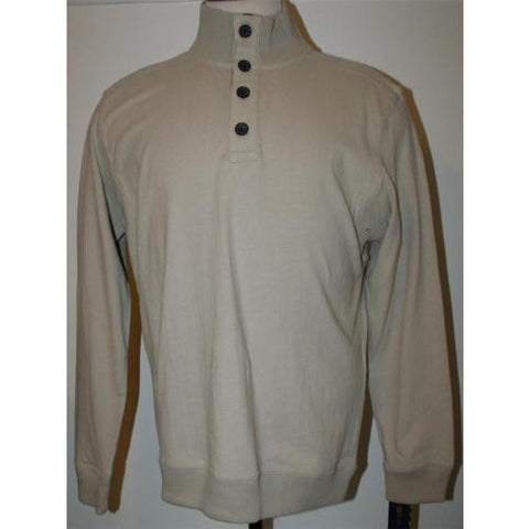 Club Room Shirt, Brushed Jersey Shirt Hudson Tan M