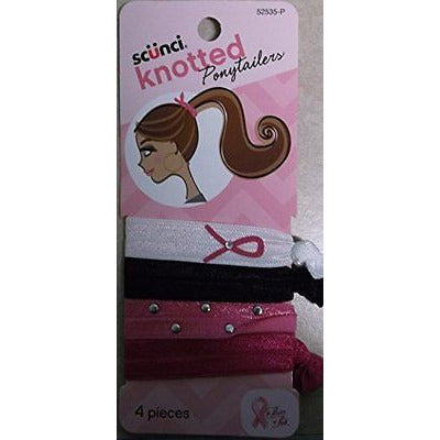 Scunci Knotted Ponytailers