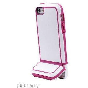 Body Glove Tracksuit Case For Iphone 5/5S White/Dark Pink