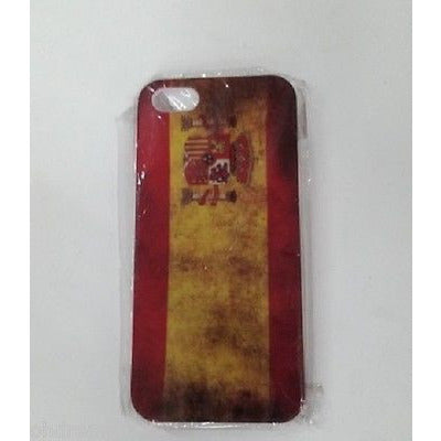 Spain Flag Hard Case For  Iphone 5
