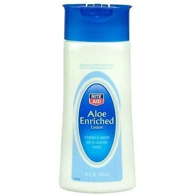 Rite Aid Aloe Enriched Lotion 10 Oz.