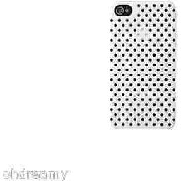 Incase Men'S Perforated Snap Case V2 For Iphone 4/4S, White, Damaged Package