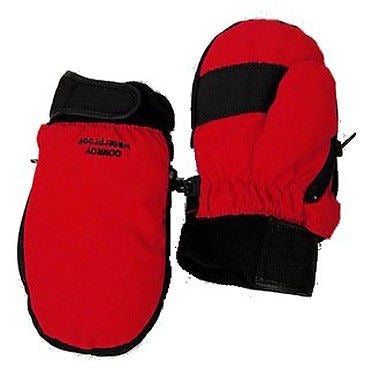Conroy Juniors Girls Waterproof Childrens Mittens Red Size L