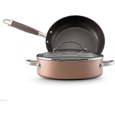 Anolon Advanced Bronze 3 Piece Cookware Set