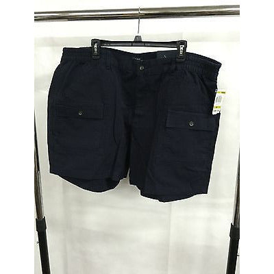 Club Room Black Casual Simple Pants Shorts, Size 44