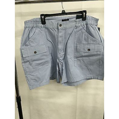 Club Room Light Blue Casual Summer Simple Pants Shorts, Size 44