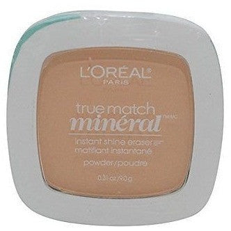 L'Oreal Paris True Match Mineral Pressed Powder, Nude Beige, 0,31 Ounce
