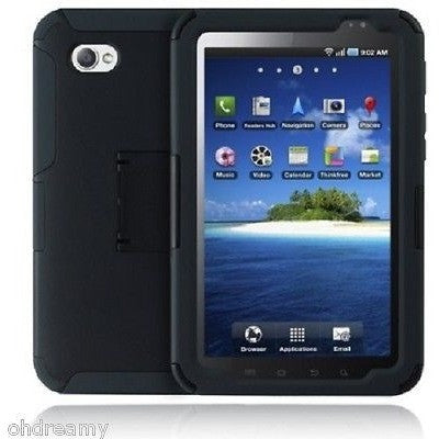 Incipio Samsung Galaxy Tab SILICRYLIC Hard Shell Case with Silicone Core - Black/Charcoal
