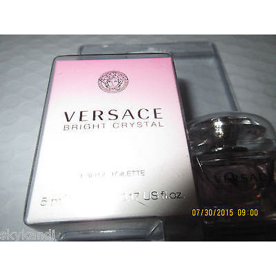 Bright Crystal By Versace Mini Edt .17 Oz (5 Ml) For Women