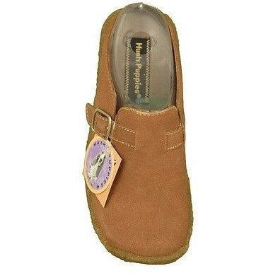 Hush Puppies Nicki Q88051 Girls Clogs Childrens Shoes Medium Brown Size 12