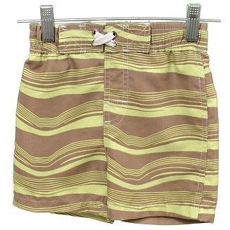 Nano Boys Aloe Waves Trunks Baby Swimwear Brown Size 6M