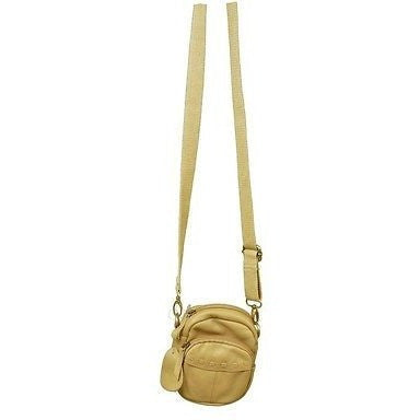 Generic Convertible Cross Body Bag Womens Purses Apricot Khaki Size S ~