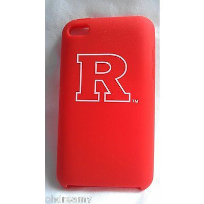 Rutgers University Silicone Skin Case for iPod Touch Tribeca FVA3614