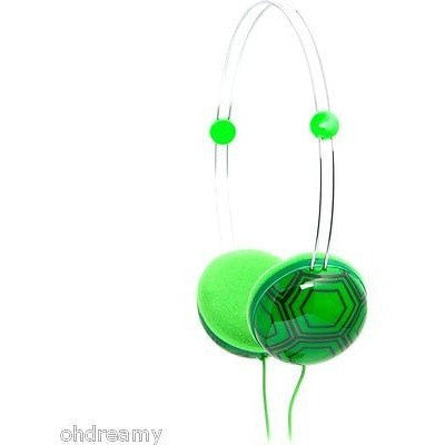 Ifrogz If-Anh-Tur Animatones Volume Limiting Headphones For Kids, Green