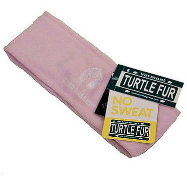 Turtle Fur Logo Band Womens Headbands Powder Pink Size O/S