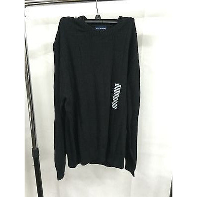 John Ashford Sweater, Ribbed Solid Sweater Deep Black M - Oh!Dreamy™ Online Store  - 1