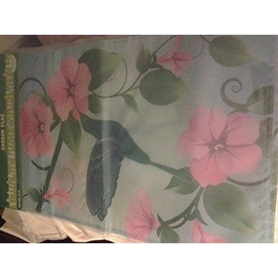 Hummingbird Garden Flag 12X18