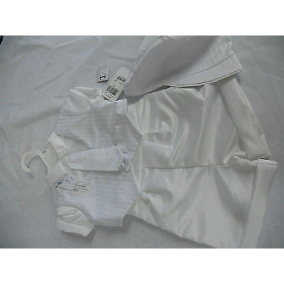 Lauren Madison Baby Boy Christening Baptism Special Occasion Infant Satin Strip