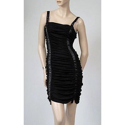 John Richmond X Slouchy Womens Dress Black 38 *