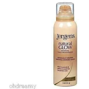 Jergens Natural Glow Foaming Moisturizer Fair To Medium Skin Tones (Missing Cap) - Oh!Dreamy™ Online Store