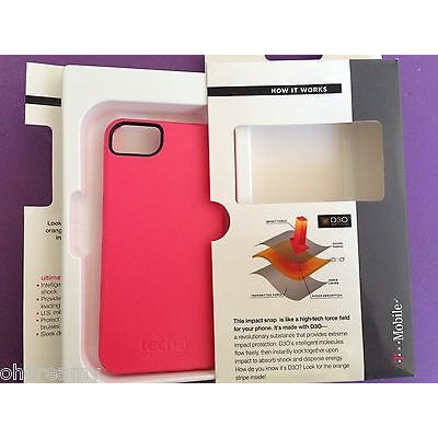 Tech21 Impact Snap On Case Cover For Apple Iphone 5 5S Pink