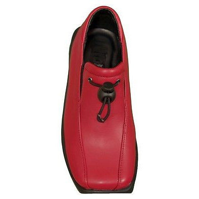 Coco Jumbo S502 Loafers Girls Childrens Shoes Red Size 13.5