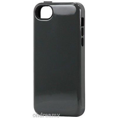 Sonix Inlay Hybrid Case Cover For Iphone 5C - Charcoal/Black