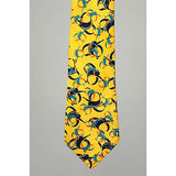 A Royale &Amp;Amp; Co Pattern Tie Mens Ties Yellow - Oh!Dreamy Online Store
