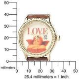 "The P.S. Collection Arjang And Co. Women'S Ps-1002G-Db ""Love Cupid"" Watch - Oh!Dreamy™ Online Store  - 4"
