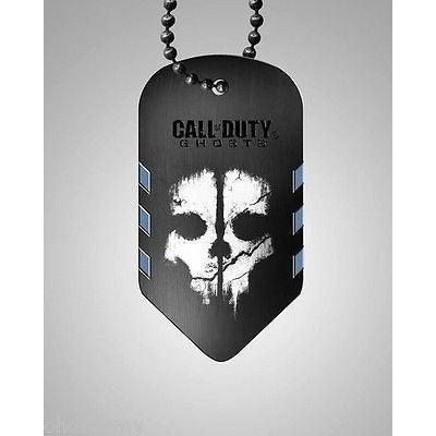 Call Of Duty Ghosts Endowment Dog Tag Dogtags Limited Edition 2013 - Oh!Dreamy™ Online Store  - 1