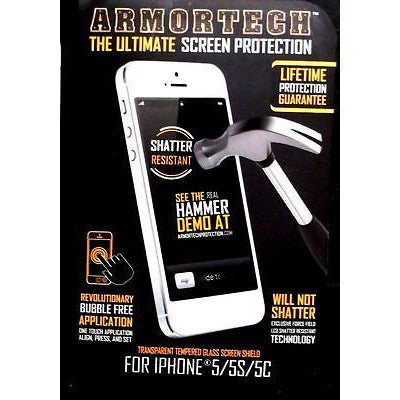 Armortech Ultimate Tempered Glass Cell Phone Screen Protector U Choose Size