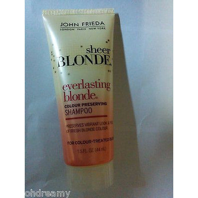 John Frieda Sheer Blonde Color Preserving Shampoo 1.5 Oz. Travel Size