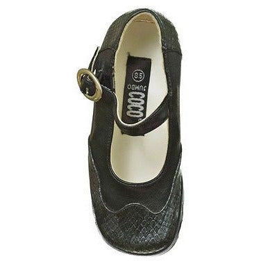 Coco Jumbo Mary Jane S4347 Girls Dressy Childrens Shoes Black Size 2