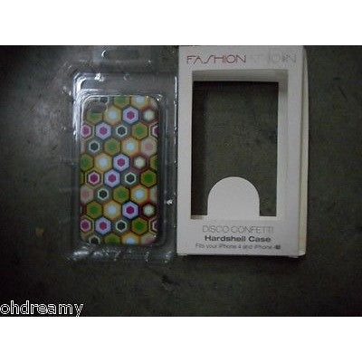 Fashionation Disco Confetti Hardshell Case For Ipod Touch 4 4Th