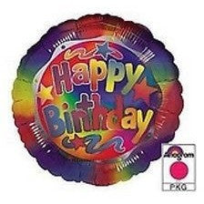 Anagram International Hx Birthday Bright Foil Balloon, Multicolor - Oh!Dreamy™ Online Store