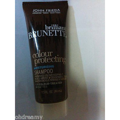John Frieda Brilliant Brunette Colour Protecting Shampoo 1.5 Oz Travel Size
