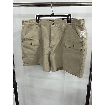 Club Room Beige Summer Casual Pants  Shorts, Size 44